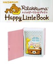 RE-MENT Hakorium Rilakkuma Happy Little Book Toy Figure #3 Bathroom Korilakkuma