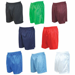 PRECISION TRAINING CONT Stripe Football Shorts  VARIOUS  Colours BOYS MENS