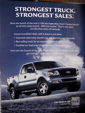 2005 Ford 150 Pick Up Original Print Ad 8.5 x 10.5""