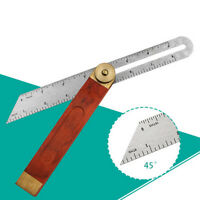 "Sliding Bevel 9"" Long Woodworkers Bevel Gauge Hardwood Angle Finding Finder"