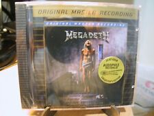 24K Gold CD MFSL UDCD-765 Megadeth Countdown to Extinction 4 Bonus Tracks Sealed