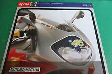 APRILIA RS50 MOTO VALENTINO ROSSI CATALOGO BIKE ITALIAN DEPLIANT PIEGHEVOLE