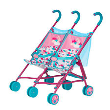 Zapf Creation Baby Born 2 Puppen Zwillings-Buggy Puppenwagen