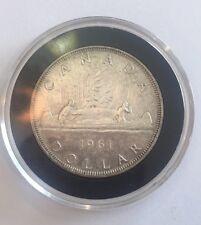 1961 Canada Silver Dollar Elizabeth II