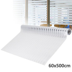 60x500cm Large Durable Glass Windows Home Privacy Window Film Sticky Sticker UK