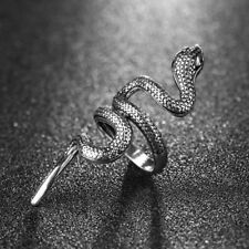 Unisex's New Gothic Snake Animal Vintage Stainless Steel Punk Rock Ring Jewelry