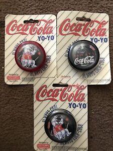 Lot Of 3-Duncan Coca-Cola Yo-Yo.  Always Coca-Cola 1997 Factory Sealed