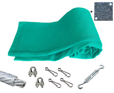 Pfeilfangnetz grün - extra safe - 8m x 3m, inkl. Zubehör & GRATIS-Backstop