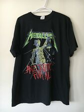 NOS Vtg '88 Metallica And Justice For All Tour Concert Band Tee 80s Brockum