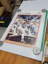 """Vintage MLB Baseball Poster DON MATTINGLY NY YANKEES #4579 Marketcom 35""""x23"""""""
