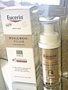 Eucerin Hyaluron-Filler + Elasticity 3D Serum Anti-Ageing 30ml New & Boxed