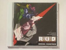 R.O.D Read Or Die Original Soundtrack OST CD TV Anime Theme Song 14T OBI ROD