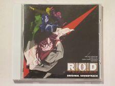 R.O.D Read Or Die Original Soundtrack OST CD Anime Theme Song 14-Tracks OBI ROD