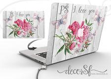 Flower Design Adesivo Vinile Avvolgere Pelle Per Apple MacBook 13 Copertura Laptop Decalcomania