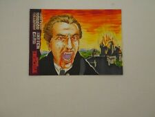 UNSTOPPABLE CARDS BRITISH HORROR COLLECTION SKETCH CARD