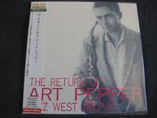 Art Pepper, The return of..., le japon CD mini LP, TOCJ - 9312, Super Bit Jazz Classics
