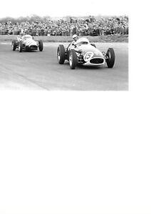 PHOTOGRAPHS  ROY SALVADORI Car No 15 and the Great ARCHIE SCOTT-BROWN Car No 5