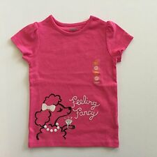 Gymboree 4T Posh & Playful Poodle Pink Shirt Nwt