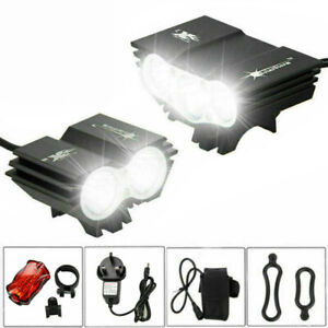 Solarstorm X2 X3 T6 20000Lm Mountain Cycle Bicycle Light Bike Front Lamp Torch