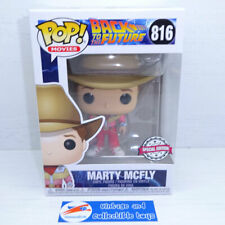 Funko POP Movies   Marty McFly Cowboy - Back to the Future 43090