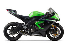 2009-2016 ZX6R Two Brothers Carbon Fiber Full Exhaust System S1R 2013 2014 2015