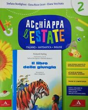 ACCHIAPPA L'ESTATE 2 + Narrativa - Vacanze Sc. Primaria MONDADORI 9788824772396