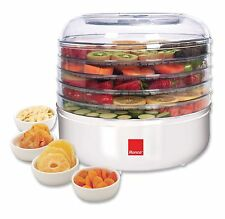 Ronco 5-Tray Electric Food Dehydrator FD1005WHGEN Food Dehydrators NEW