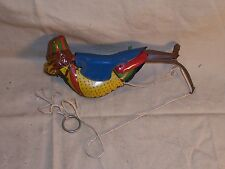 Vintage Lindstrom Bill the Climbing Monkey Tin Toy