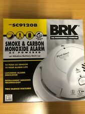 SMOKE AND CARBON MONOXIDE ALARM WIRED WITH BATTERY BACKUP - 4 PACK
