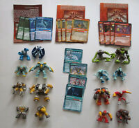 Lot of 4 Gormiti The Invincible Lords of Nature Series 1