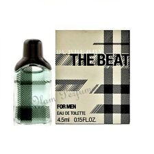Burberry The Beat For Men Eau de Toilette Miniature Collectible 0.15oz 4.5ml