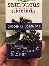 Sambucus Elderberry Lozenges, Nature's Way, 30 piece