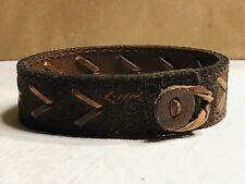 RARE Vintage Abercrombie & Fitch A&F Leather Bracelet W/Leather Closure AMAZING