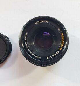 Lot of 35mm Lenses / Filters  Accessories Minolta