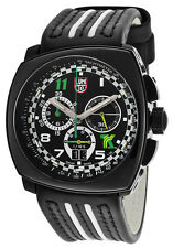 Luminox Land A.1142 Tony Kanaan Big Date Chronograph 1140 Men's Leather Watch