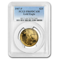 1987-P 1/2 oz Proof Gold American Eagle PR-69 PCGS - SKU#13054