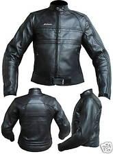 Nuovo Giacca Moto Per Donna in Pelle  mod 3159 Nero