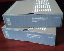 IBM Technical Reference Options and Adapters Volume 1 and 2 6322509 - Vintage