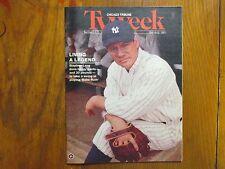 October  6, 1991  Chicago Tribune TV Week  (STEPHEN  LANG/BABE  RUTH/LISA  ZANE)
