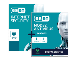 ✔ESET NOD32 Antivirus Internet Security 2021 ✔ Global ✔ 1 Year