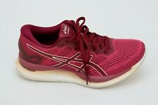 Asics Glide Ride Womens Running Athletic Sneakers Shoes Size 7 Dark Red 1012A699
