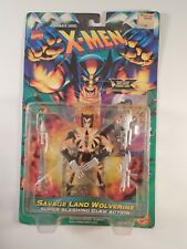Toy Biz 1996 Marvel X-Men Savage Land Wolverine with Super Slashing Claw Action