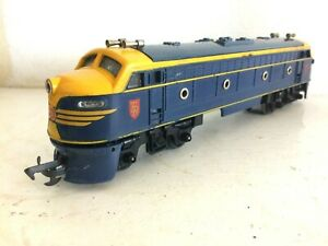 TRIANG R250 BO-BO BLUE YELLOW TR CRESTS DIESEL LOCO DUMMY END transcontinental
