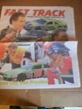 Original 1997 Fast Track Food City 500 Preview Kingsport Times-news