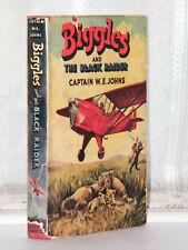 W E Johns - Biggles and The Black Raider 1st Edition 1953
