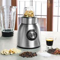 1.5 L Licuadora Y Molinillo Eléctrico Multi Food Maker 2 velocidades Función De Pulso Negro