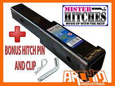 "9"" HITCH EXTENDER TO SUIT BIKE RACK EXTENSION- TOWBAR ADAPTOR TRAILER 4X4 CAR"