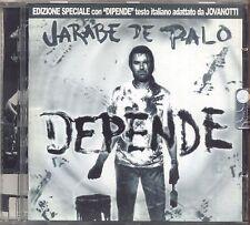 JARABE DE PALO - Depende - JOVANOTTI CD 2000 NEAR MINT CONDITION