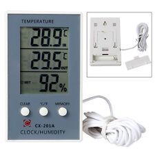 Indoor Outdoor LCD Digitale Wetterstation Feuchtigkeitsmesser w