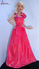 "Gown dress for OOAK Barbie,silkstone,Poppy,Fashion Royalty 12"" Dolls"